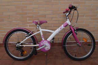 Bicicleta BTWIN MISTIGIRL 20 Pulgadas