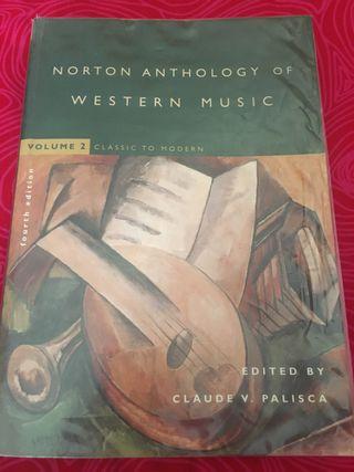 Norton anthology of western music