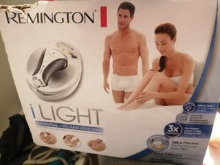 Depiladora luz pulsada Remington ilight