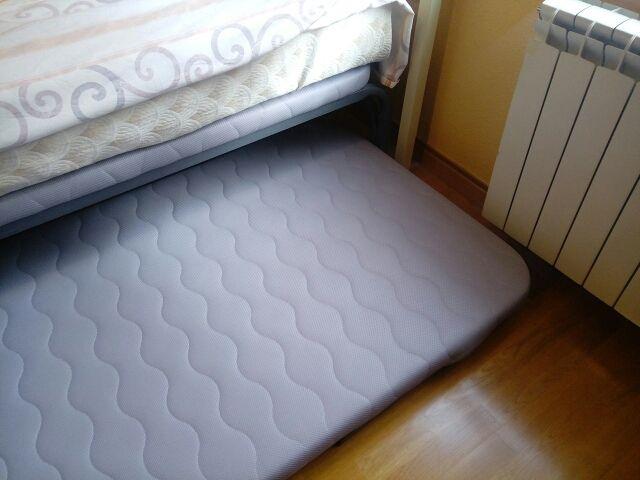 Cama con cama supletoria.