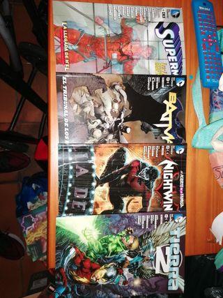 pack 4 libros DC cómics