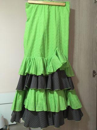 Traje / vestido / falda sevillanas flamenco