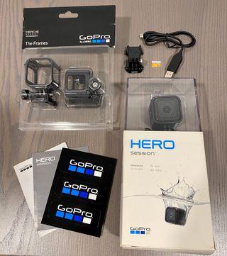 SÚPER OFERTA: GoPro HERO4 SESSION +Accesorios