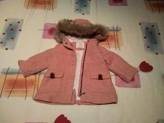Trenca Zara niña 9/12 meses