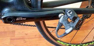 Bici carretera cube axial wls pro talla xs (50)