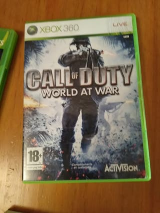 juegos de la Xbox 360 y uno de la Wii