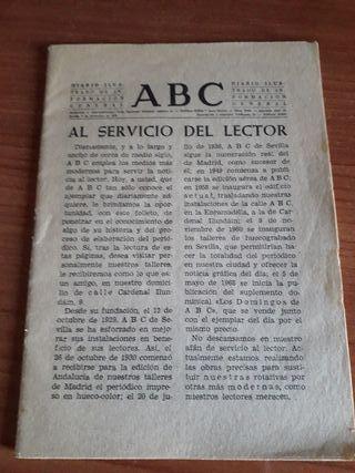 curiosa revista ABC 1972