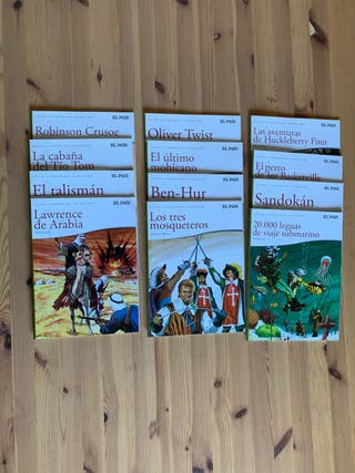 Libros clásicos para niños versión cómic