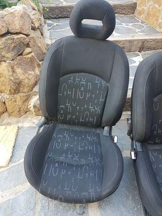 asientos peugeot 206