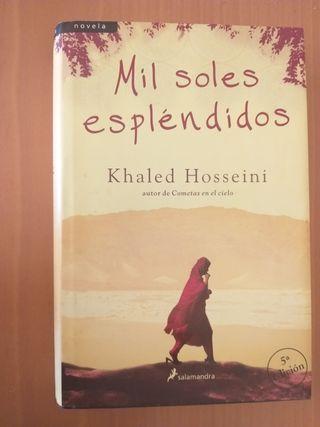 Mil soles espléndidos- khaled Hosseini