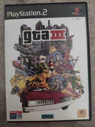 Juego PS2 GTA III