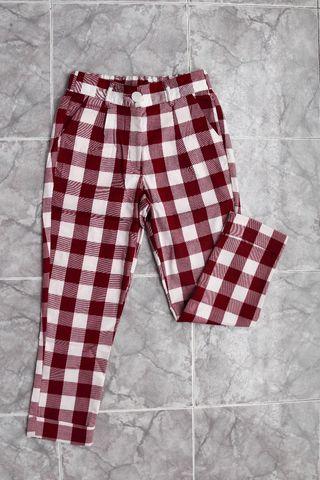Pantalón cuadros mujer NUEVOS