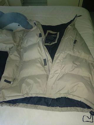 vendo chaqueta de plumas northway talla M