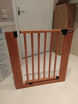 Barrera de seguridad de madera de Jané