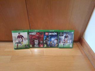 4 juegos xbox one