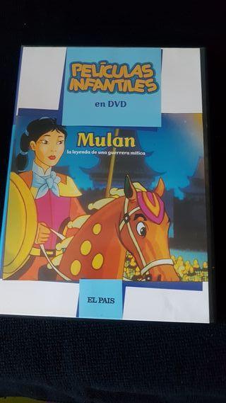Mulan..peliculas infantiles el pais