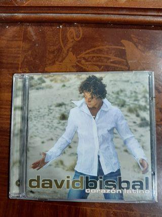 CD. David bisbal. Corazón latino.
