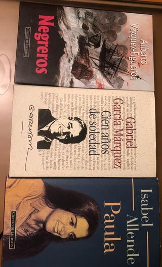 Libros: Paula, Negreros, Cien años de soledad