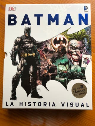 Batman la historia visual + 2 láminas. Español