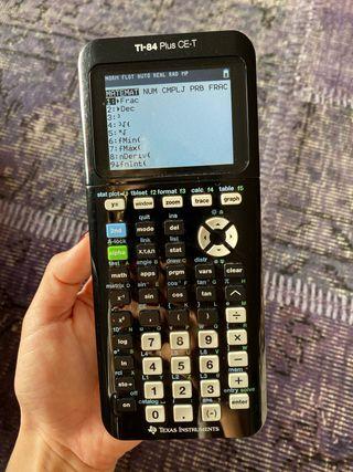 Calculadora Científica TI-84 Plus CE-T Texas Ins.