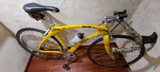 bicicleta perteneciente a Martin Farfan