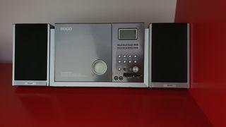 Minicadena con usb, SSD, radio, cd