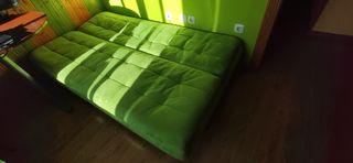Sofa Cama Verde Intenso