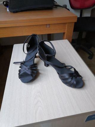 Zapatos de baile de salón, negros