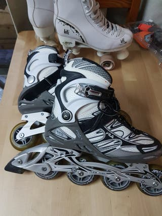patines fila + folsa talla 37