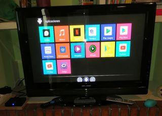 T.V BELSON 32 PULGADAS+TV BOX