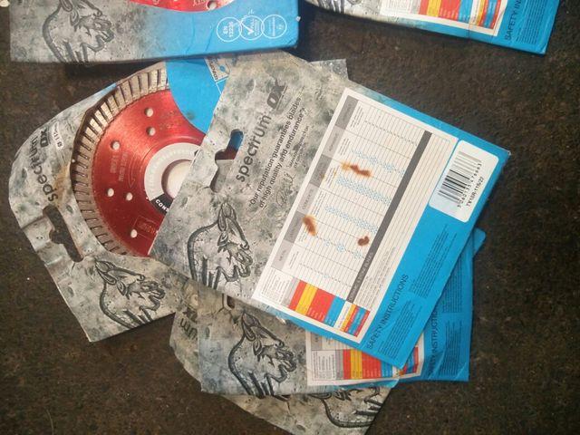 angle grinder diamond discs