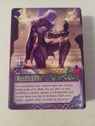 Lote de 60 Cards Fantasy Riders ¡¡ SIN REPETIR !!
