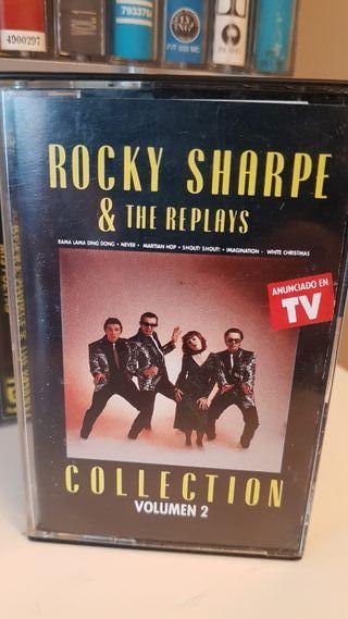 cassete Rocky Sharpe & The Replays..vol 2..1990