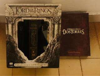 2x1 Lord of rings coleccionista y extendida