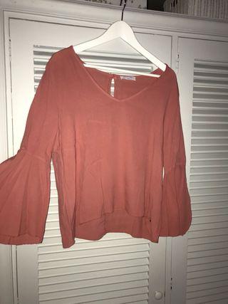 camisa rosa de brownie