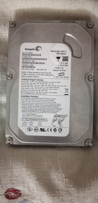 disco duro Seagate barracuda 7200.9 160gb