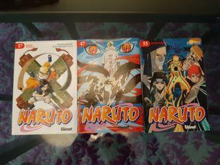 Lote cómics manga Naruto