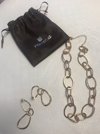 #conjunto collar y pendientes