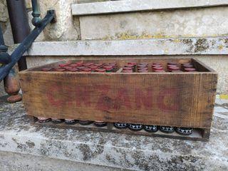 Caja antigua Vermouth Cinzano Torino completa