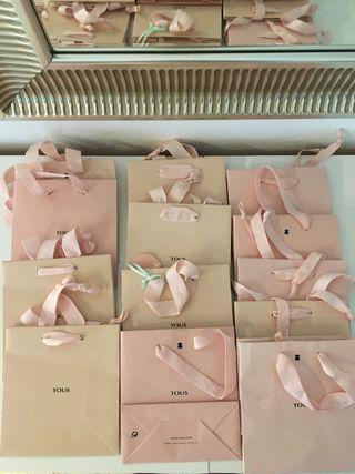 Cajitas y bolsas de Tous