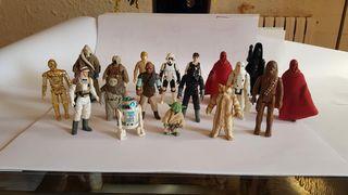 Lote figuras Star Wars años `80