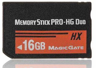 Tarjeta PSP Cámara CyberShot de 16GB Duo Memoria