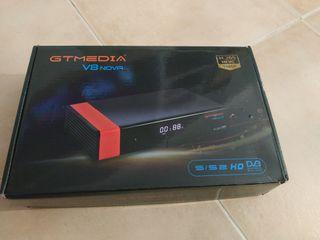 Decodificador satélite TV GT Media V8 Nova
