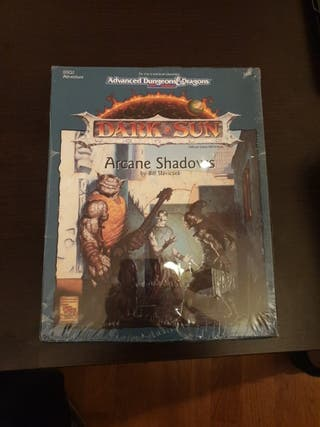 Dungeons & Dragons Arcane Shadows Dark Sun sellado