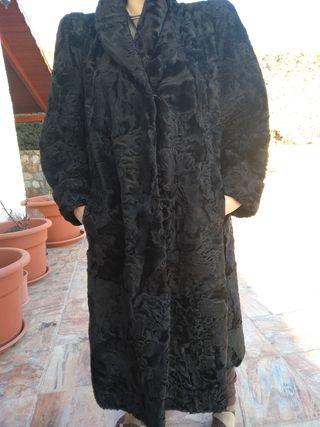 abrigo de garra de astracán, talla 42-44