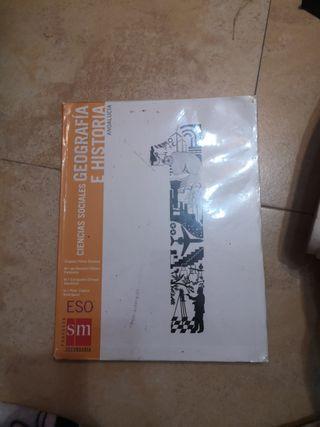 libro ciencias sociales geografía e historia