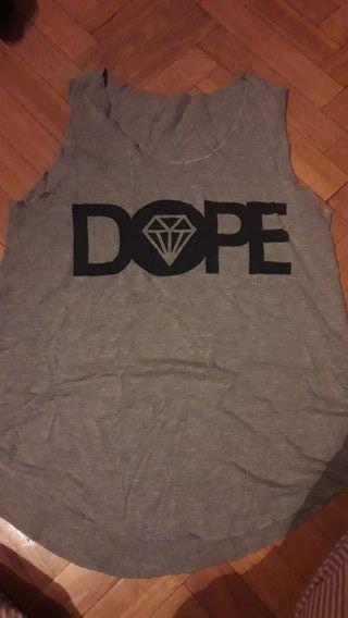 Camiseta tirantes DOPE