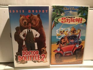 DOCTOR DOLITTLE 2 + LILO Y STICH VHS