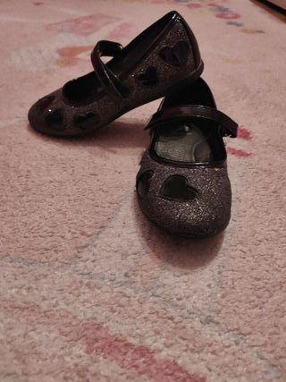 bailarinas de purpurina marca Bata