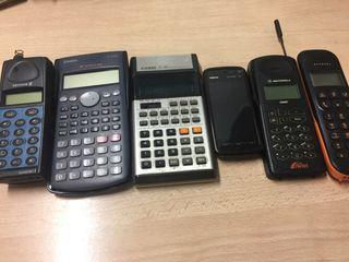 Lote, calculadora gráfica Casio fx 82 ms y 5 mas.